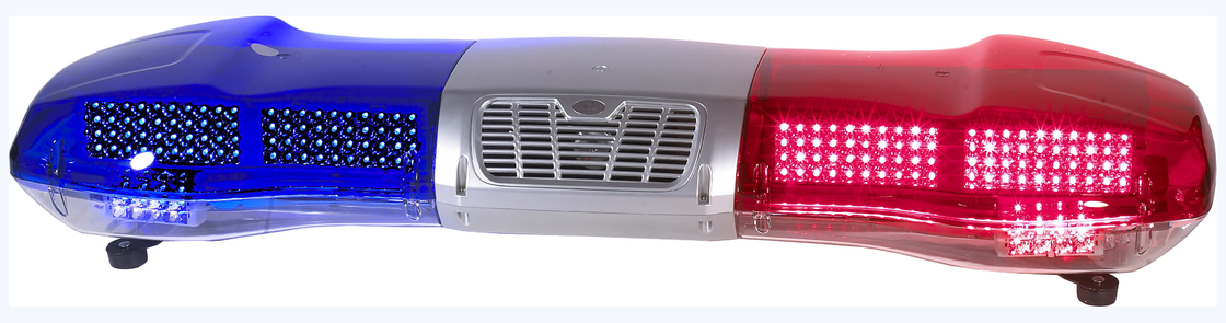 "Vehicle Warning Light Bars with Siren & Speaker , 48"" Red And Blue Led Light Bar"