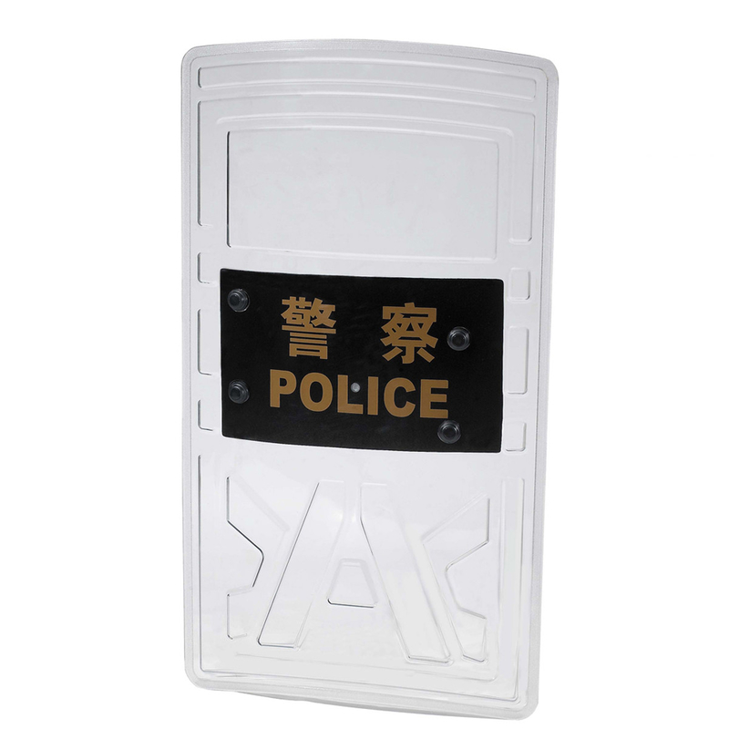 Polycarbonate Military Anti Riot Shield Plastic Swat 147 Joule GA422-2008