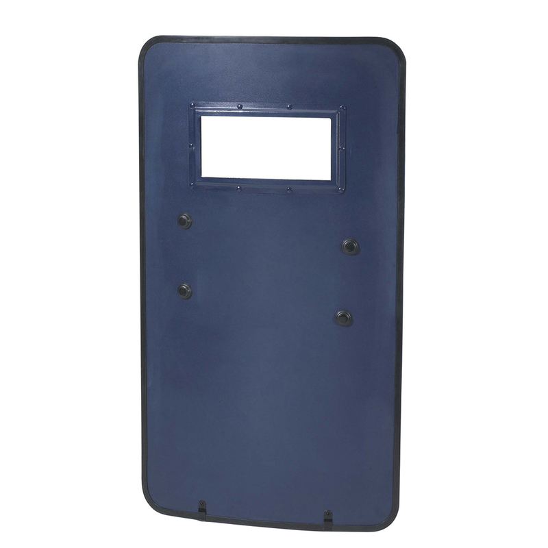 Metal Aluminum Material Police Riot Control Shield With Observation Window
